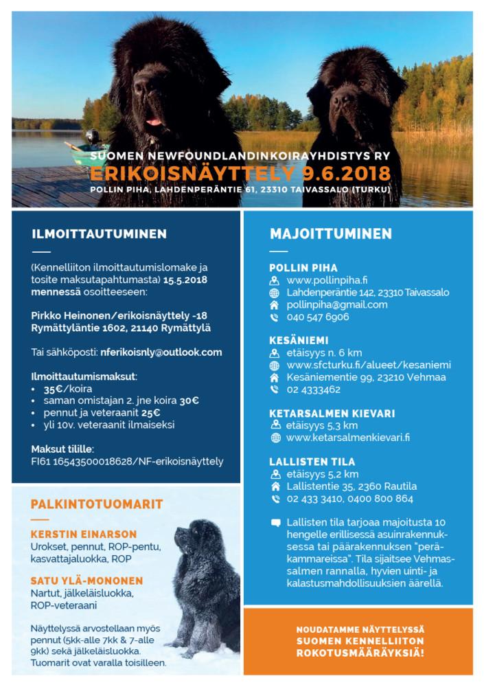 Suomen Newfoundlandinkoirayhdistys